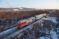 Новый магистральный тепловоз ТГ16М начал работу на Сахалине