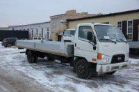 Завод «НижСпецАвто» выпустил новый бортовой автомобиль Hyundai HD 78