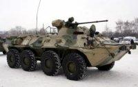 Морские пехотинцы в Мурманской области протестируют БТР-82АМ