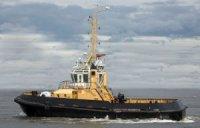 """На СЗ """"Пелла"""" спущен на воду буксира «РБ-366» проекта 90600"""