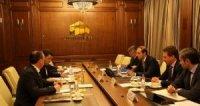 Денис Мантуров провел рабочую встречу с губернатором Свердловской области