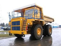 Серия карьерных самосвалов БелАЗ-7555 пополнилась новой моделью