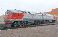 Новый грузовой магистральный локомотив 2ТЭ25КМ отправился в эксплуатационный пробег