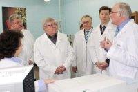 Предприятие «Швабе» посетил полпред президента Николай Рогожкин