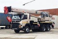 "Автопарк ""Диалог Инвеста"" пополнился краном на шасси Volvo FMX 6x6"