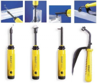 GRATTEC - качественные инструменты для обработки поверхности материалов и удаления заусенцев