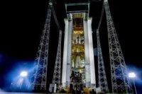 РН Vega стартовала с космодрома в Гвианском космическом центре
