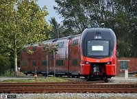 """Швейцарские двухуровневые поезда для """"Аэроэкспресса"""" продолжают тестировать"""