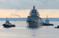 Фрегат «Адмирал Горшков» отправился на государственные испытания в Белое море