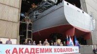 """Морской транспорт вооружения """"Академик Ковалев"""" впервые выйдет на ходовые испытания через неделю"""
