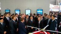 «Вертолеты России» представили вице-премьерам России и Китая вертолет нового поколения Ми-171А2