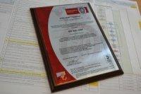 Компания «КНРГ Проекты» получила международный сертификат соответствия
