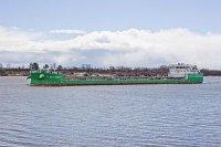 """Танкер проекта RST54 """"Балт Флот 4"""" успешно прошел ходовые испытания"""