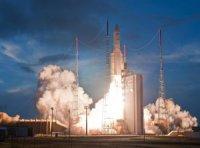 С космодрома Куру стартовала ракета-носитель Ariane-5