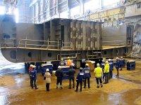 Финская верфь ОСК заложила новое многофункциональное ледокольное дежурное судно