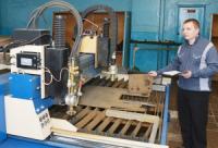АПЗ ввел в эксплуатацию новую установку плазменной резки металла
