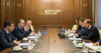 Денис Мантуров провел рабочую встречу с главой Карачаево-Черкесии