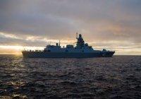 Фрегат «Адмирал Горшков» в ходе заводских испытаний выполнил стрельбы по воздушным целям