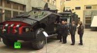 Новые бронеавтомобили продемонстрировали Владимиру Путину