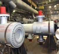 Волгограднефтемаш изготовил первые теплообменники с затворами типа «Breech Lock»
