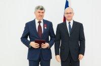 Гендиректор «Атомэнергомаш» Андрей Никипелов награжден медалью ордена «За заслуги перед Отечеством» второй степени