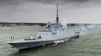 ВМС Франции получили третий фрегат класса FREMM