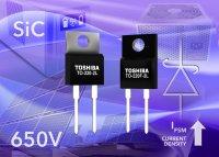 Диоды Шоттки второго поколения компании Toshiba обеспечивают увеличение плотности тока на 50%
