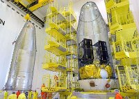 """""""Союз-СТ-Б"""" со спутниками """"Галилео-FOC М5"""" готовится стартовать из Гвианского космического центра"""