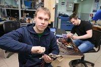 Студенты ТПУ собирают робота-паука для спасательных операций и разведки
