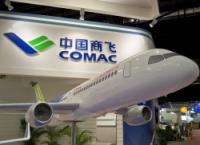 Китайский пассажирский авиалайнер C919 готовится к тестовому полету