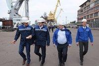 Замминистра экономического развития РФ посетил Выборгский судостроительный завод