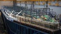 На СНСЗ залили корпус второго серийного корабля противоминной обороны для ВМФ РФ