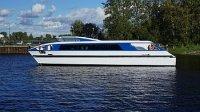Средне-Невский судостроительный завод спустил на воду пассажирский катамаран