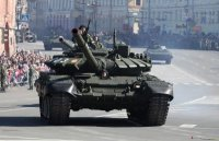 ЮВО получил новейшие танки Т-72Б3