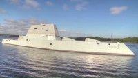 Головной миноносец класса Zumwalt вошел в состав ВМС США