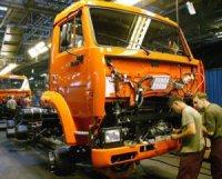"""КамАЗ"" укрепил позиции на рынке грузовиков"