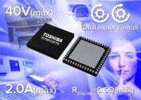 Toshiba представляет биполярный 2-канальный драйвер шаговых электродвигателей