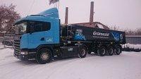 Scania продолжает поставлять технику на газомоторном топливе