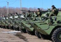Мотострелковая бригада в Самарской области получила более 40 новейших БТР-82А