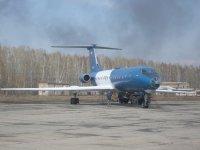 Томские ученые изучают атмосферу на самолете-лаборатории