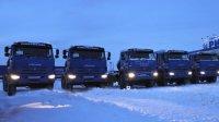 Партия автомобилей КамАЗ поставлена на Крайний север