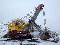 Новый экскаватор ЭКГ-18 введен эксплуатацию на Калтанском угольном разрезе
