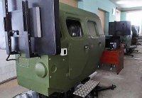 """Группа """"Кронштадт"""" поставила военным модульные тренажерные комплексы вождения автомобиля МАЗ-543"""