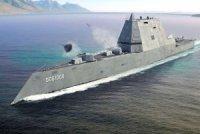 На предприятии General Dynamics заложили киль третьего эсминца класса Zumwalt