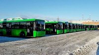 Екатеринбург получил газовые автобусы НефАЗ
