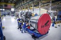 Blue Origin представила первый образец ракетного двигателя BE-4