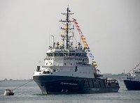 Черноморский флот пополнился спасательным буксиром