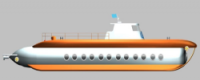 Tianjin Ostar Underwater Vehicles построит подлодку для гражданских целей