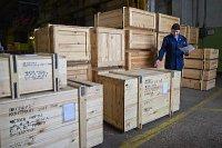 ЧТЗ отправил в Прагу запчасти для тракторов Б10 и Т-170