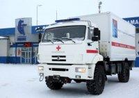 Автомобиль скорой медпомощи на базе шасси КамАЗ пройдет испытания на Колыме
